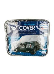 Duracover PVC & Non-Woven 4x4 Car Cover, Black, 190x77x57 Inch