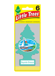 Little Trees Bayside Breeze Paper Air Freshener, Blue