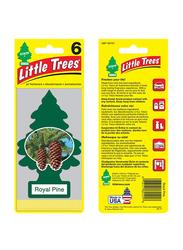 Little Trees Royal Pine Paper Air Freshener, Green