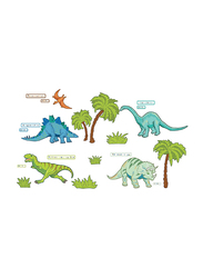 Brewster Dinosaur Expedition Large Wall Art Kit, Multicolor