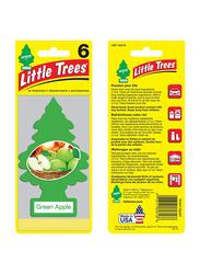 Little Trees Green Apple Paper Air Freshener, Green