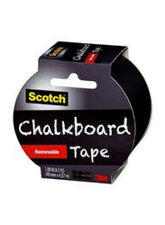 3M Chalkboard Tape, 1.88 inch x 5 Yard, Black