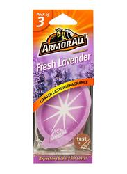 Armor All Fresh Lavender Air Freshener, 3 Pieces