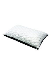 All Ride Nylon Pillow, White/Black