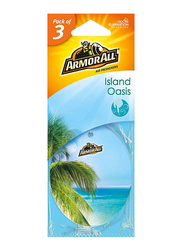 Armor All Island Oasis Air Freshener, 3 Pieces