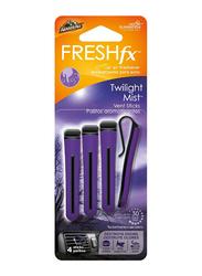 Armor All Vent Stick Twilight Mist Air Freshner, 4 Sticks