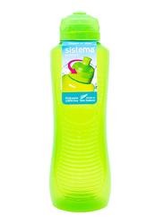 Sistema 800ml Twist 'N' Sip Gripper Plastic Water Bottle, Green