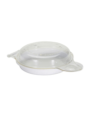 Nordic Ware 17.2cm Microwave Egg's N Muffin Pan, 17.2 x 10.6 x 6cm, Clear