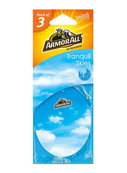 Armor All Tranquil Skies Air Freshener, 3 Pieces