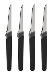 Joie 4-Piece 6-inch Garnishing Knives Set, Assorted Color