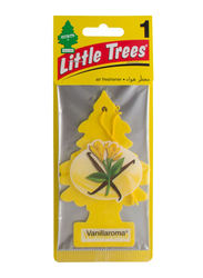 Little Trees Vanilloroma Paper Air Freshener, Yellow