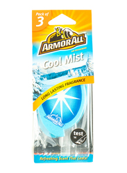 Armor All Card Cool Mist Air Freshener, 3 Pieces