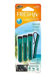 Armor All Vent Stick Island Oasis Air Freshner, 4 Sticks