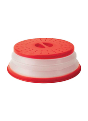 Tovolo Microwave Food Cover, Red/Clear