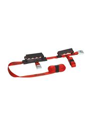 Masterlock Crossed Straps, Red, 2 Pieces