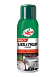 Turtle Wax 284gm Label & Sticker Remover