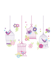 Brewster Chirping The Day Away Large Wall Art Kit, Multicolor