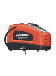 Black & Decker Air Inflator, Dark Orange/Black