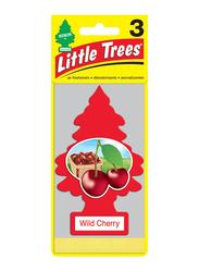 Little Trees Wild Cherry Paper Air Freshener, Red