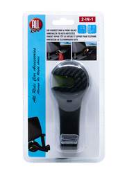 All Ride Car Hook and Phone Holder, Black, 55-90 mm