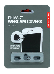Kikkerland Privacy Webcam Cover for Mobile/Laptop/Computer, Clear