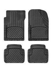 3D Universal Mat Cut To Fit, Classic Black, 4 Pieces