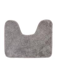 Wenko Pedestal Bath Mat, 50 x 40cm, Grey