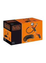 Black & Decker Air Tools Kit, Black/Orange, 6 Pieces
