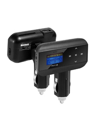 Promate FM 12 Car FM Transmitter, Black
