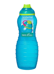 Sistema 700ml Twist 'N' Sip Plastic Davina Water Bottle, Blue