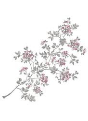 Brewster Cherry Blossom Wall Art Kit, Multicolor
