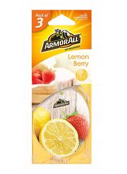 Armor All Lemon Berry Air Freshener, 3 Pieces