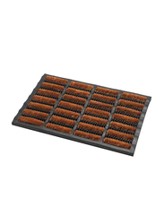 Addis Terrington Doormat, Brown/Black