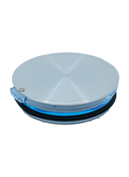 Grand Fusion 10cm Over The Top Stainless Steel Round Leakproof Lid, Grey