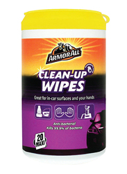 Armor All Antibacterial Clean Up Wipes, 20 Count