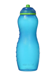 Sistema 700ml Twist 'N' Sip Plastic Davina Water Bottle, Blue