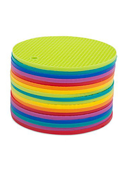 Core Silicone Round Trivet Pot Holder, Assorted Color