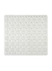 Wenko Rocha Shower Mat, 54 x 52cm, White