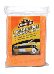 Armor All 3 Microfiber Cleaning Cloth, 3 Pieces