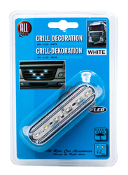 All Ride Grill Decoration LED, White