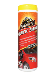Armor All Quick Shine Wipes, Red, 12 Count