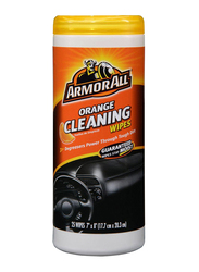 Armor All Orange Cleaning Wipes, 25 Count