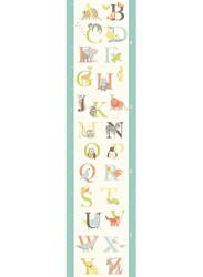 Brewster Abc Jungle Growth Chart Decal, Multicolor