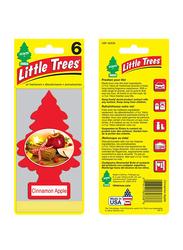 Little Trees Cinnamon Apple Paper Air Freshener, Red
