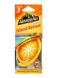 Armor All Island Retreat Air Freshener, 3 Pieces