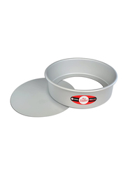 Fat Daddio'S 9-inch Cheese Cake Pan with Removable Bottom, 22.86 x 22.86 x 5.08cm, Silver