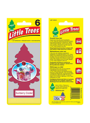 Little Trees Sunberry Cooler Paper Air Freshener, Red