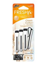 Armor All Vent Stick Classic Cotton Air Freshner, 4 Sticks