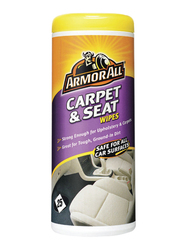 Armor All Carpet & Seat Wipes, 25 Count