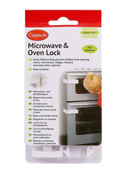 Clippasafe Microwave & Oven Lock, White